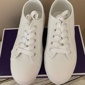 Charlotte Russe White Sneaker by Top Moda